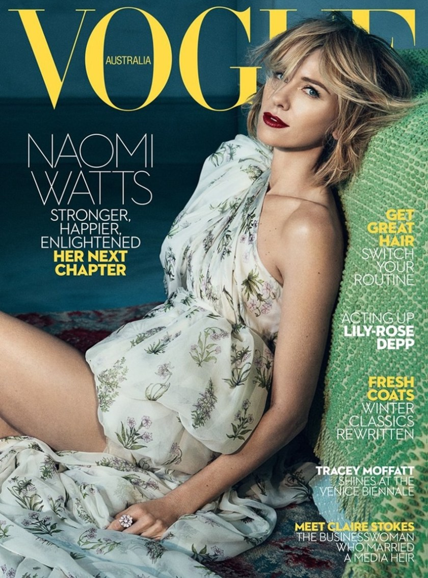 VOGUE AUSTRALIA Naomi Watts by Emma Summerton. Christine Centenera, June 2017, www.imageamplified.com, Image Amplified1