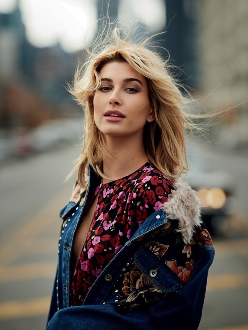 ELLE UK Hailey Baldwin by Gilles Bensimon. Anne-Marie Curtis, July 2017, www.imageamplified.com, Image Amplified5