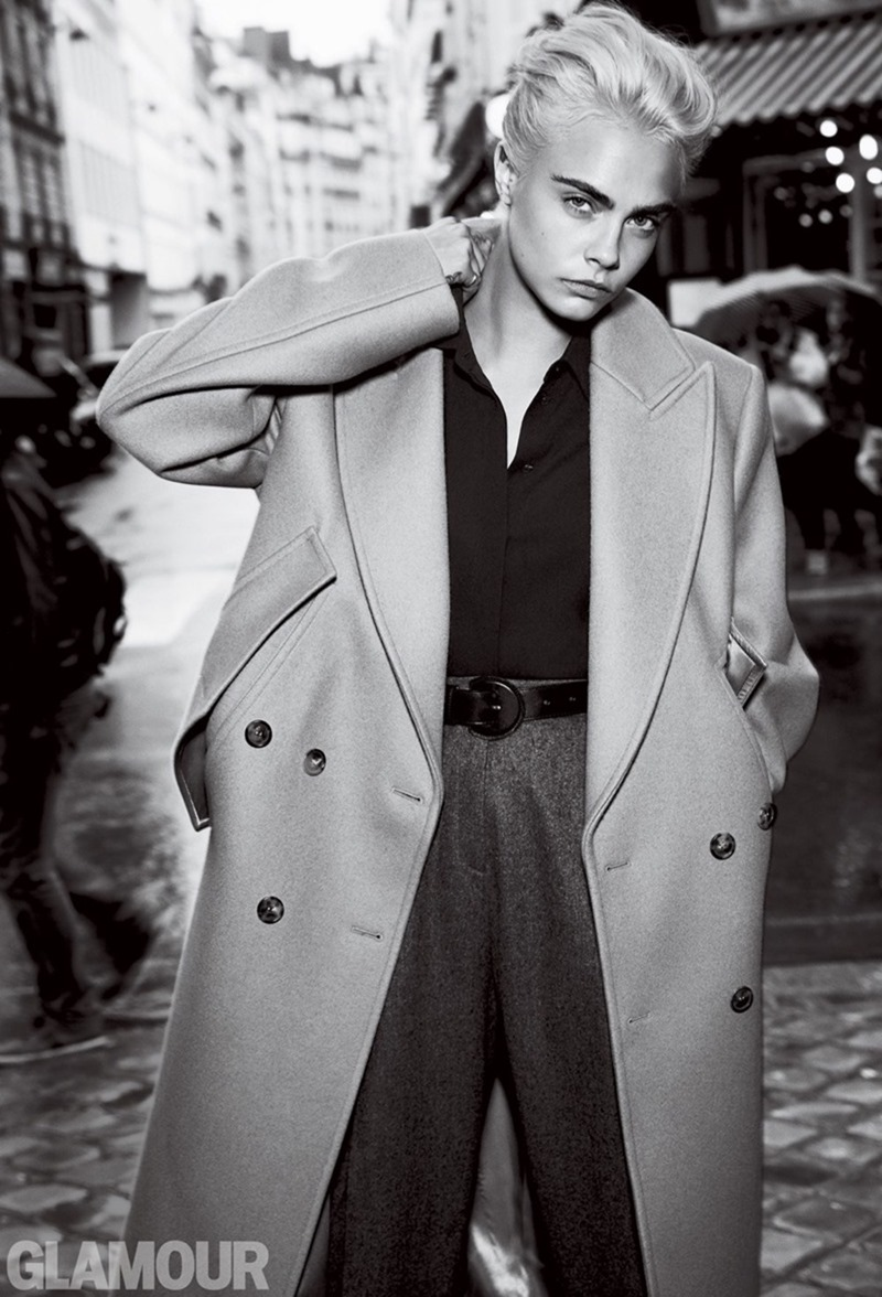 GLAMOUR MAGAZINE Cara Delevigne by Patrick Demarchelier. Jillian Davison, August 2017, www.imageamplified.com, Image Amplified3