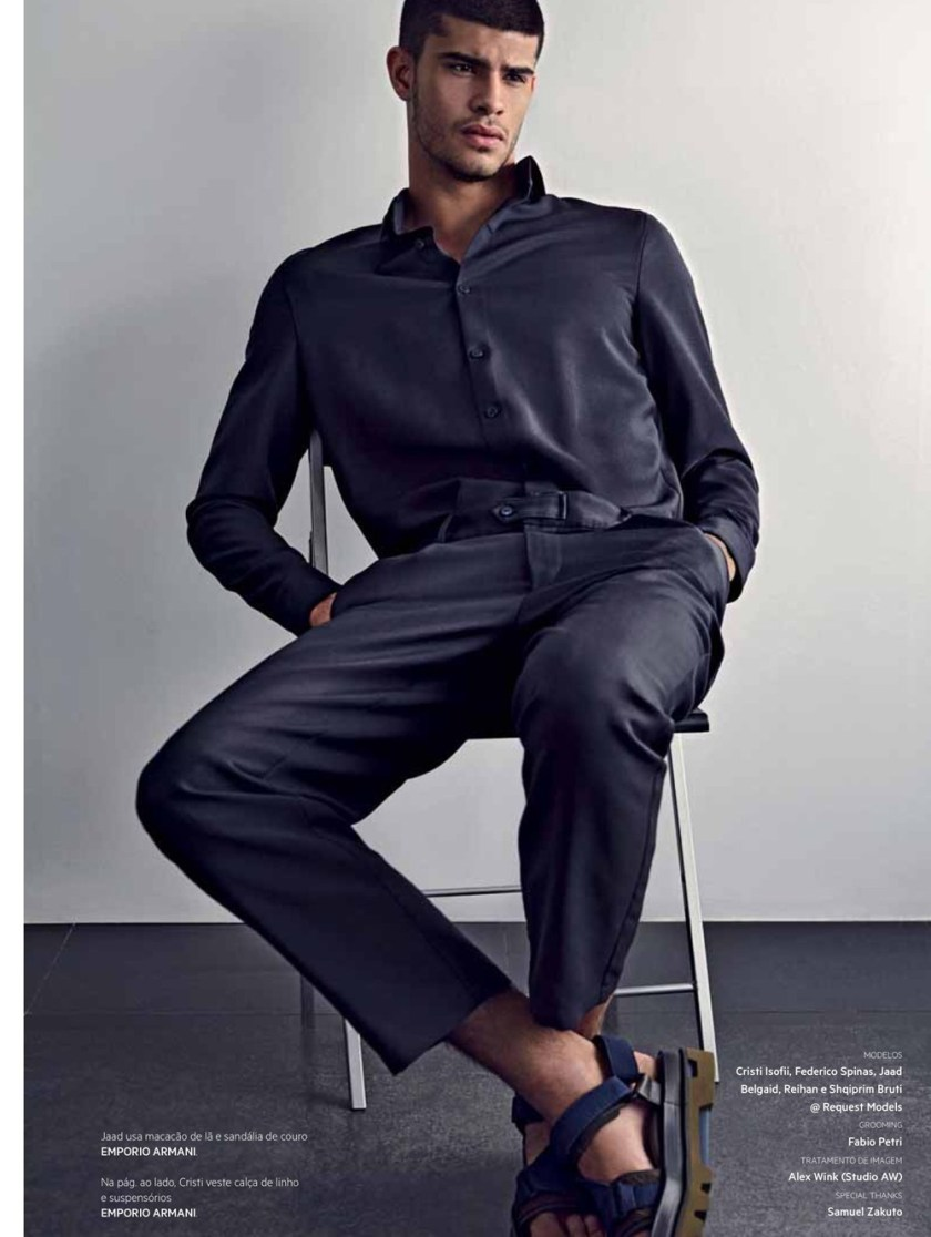 L'OFFICIEL HOMMES BRAZIL Cristi Isofii & Jaad Belgaid by Neal Franc. Juliano Corbetta, Spring 2017, www.imageamplified.com, Image Amplified6