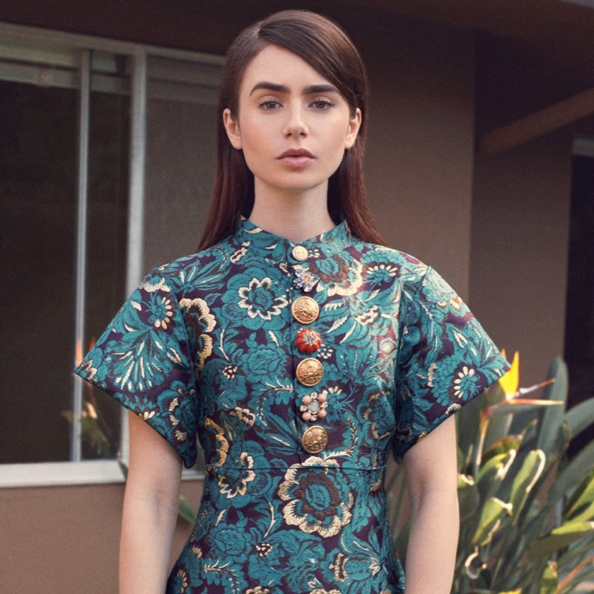 THE EDIT Lily Collins by Stas Komarovski. Tracy Taylor, June 2017, www.imageamplified.com, Image Amplified2