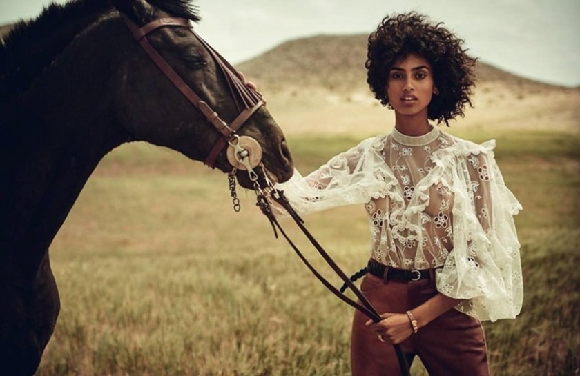 VOGUE SPAIN Imaan Hammam by Boo George. Sara Fernandez Castro, July 2017, www.imageamplified.com, Image Amplified11