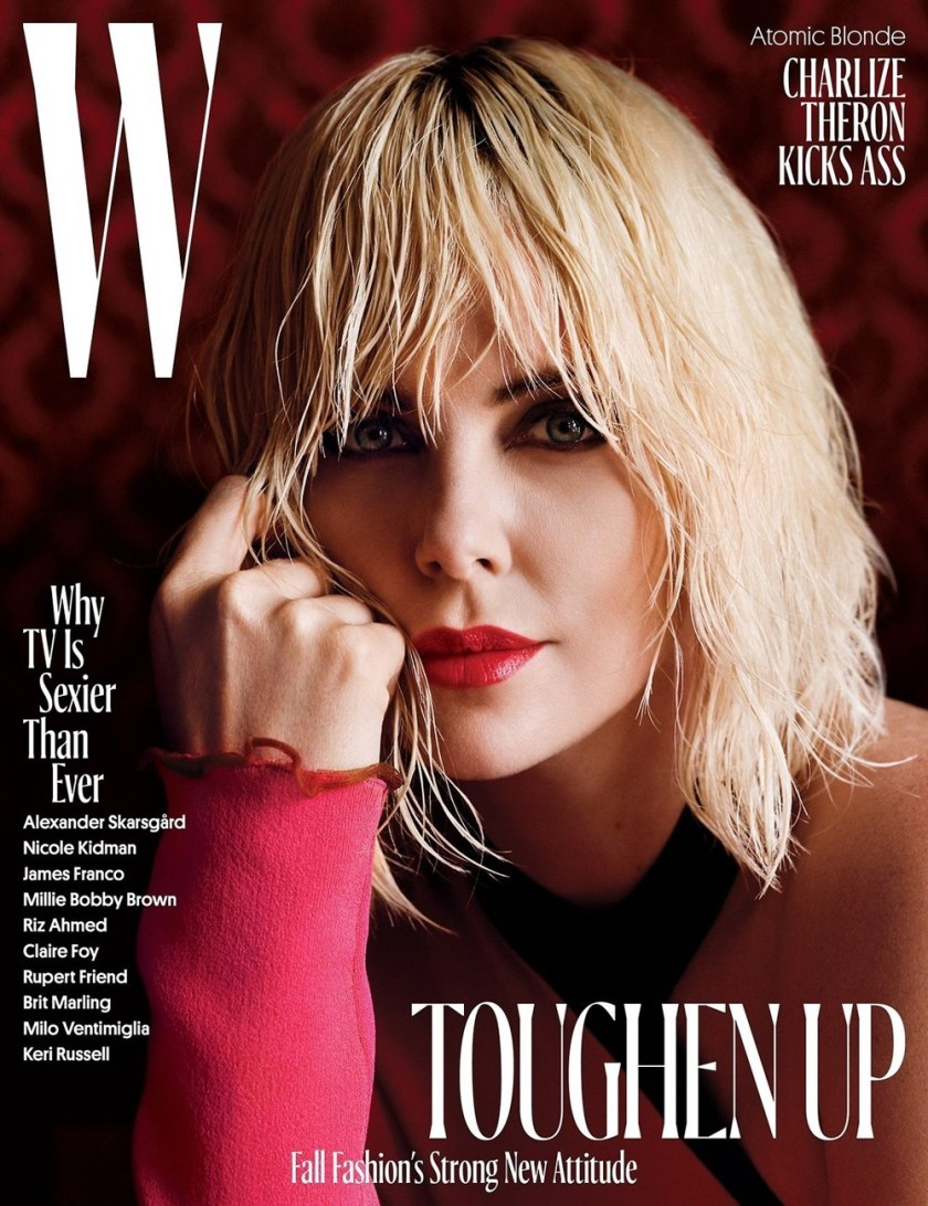 W MAGAZINE Charlize Theron by Alasdair McLellan. Edward Enninful, August 2017, www.imageamplified.com, Image Amplified4