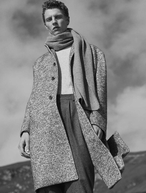 CAMPAIGN Tim Schuhmacher for Massimo Dutti Fall 2017 by Josh Olins. Jesus Cicero, www.imageamplified.com, Image Amplified1