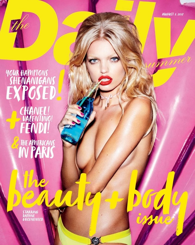 THE DAILY SUMMER Daphne Groeneveld by Carin Backoff. Anya Ziourova, Summer 2017, www.imageamplified.com, Image Amplified1