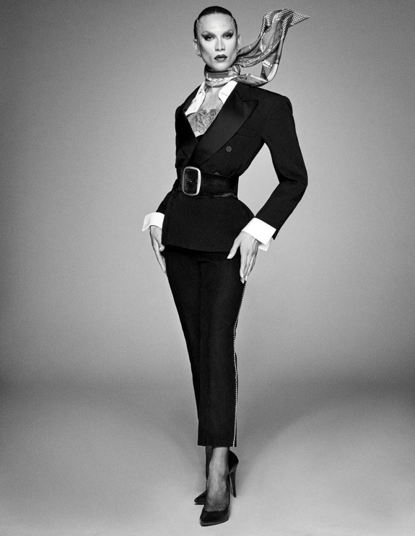 VOGUE GERMANY Miss Fame by Giampaolo Sgura. Christiane Arp, Nicole Knels, August 2017, www.imageamplified.com, Image Amplified3