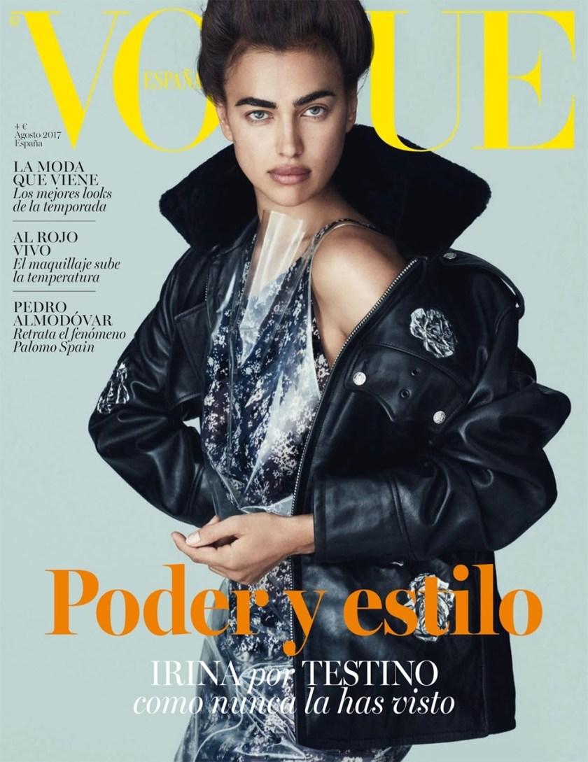 VOGUE SPAIN Irina Shayk by Mario Testino. Paul Cavaco, August 2017, www.imageamplified.com, Image Amplified1
