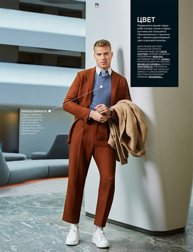 GQ MAGAZINE Matthew Noszka by Michael Schwartz. Taylor Brechtel, Fall 2017, www.imageamplified.com, Image Amplified6