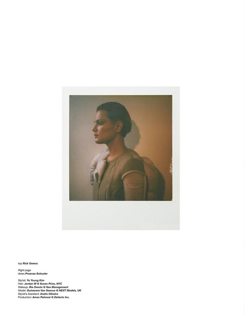 ZOO MAGAZINE Guinevere van Seenus by Nagi Sakai. Ye Young Kim, Fall 2017, www.imageamplified.com, Image Amplified18