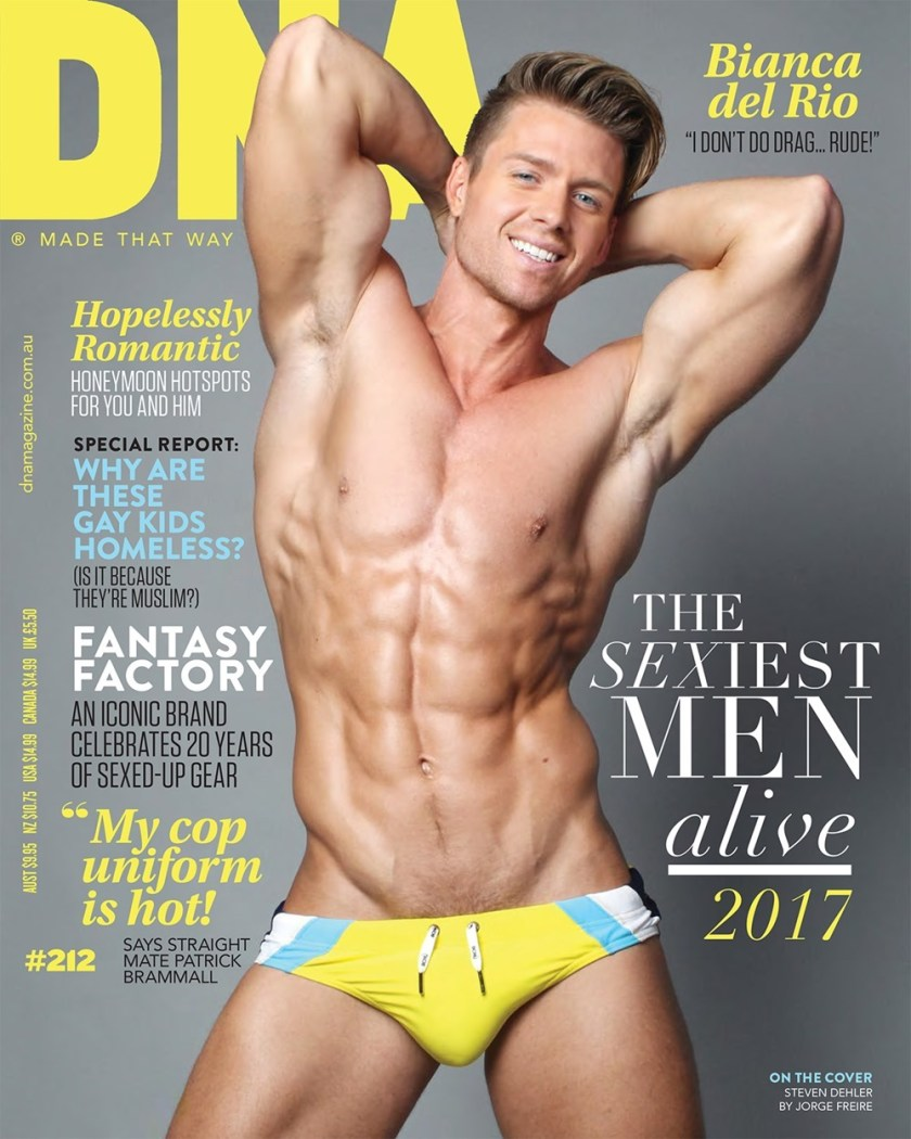 DNA MAGAZINE Steven Dehler by Jorge Freire. Fall 2017, www.imageamplified.com, Image Amplified1