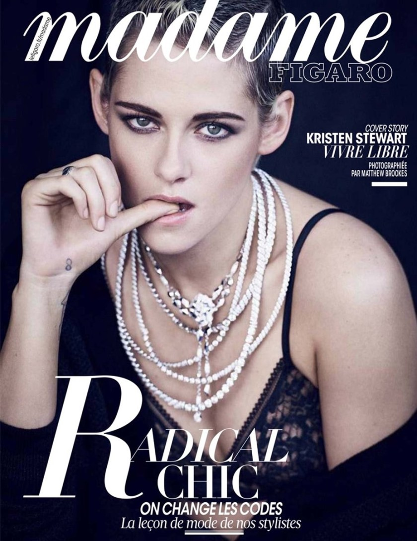 MADAME FIGARO Kristen Stewart by Matthew Brookes. Fall 2017, www.imageamplified.com, Image Amplified16