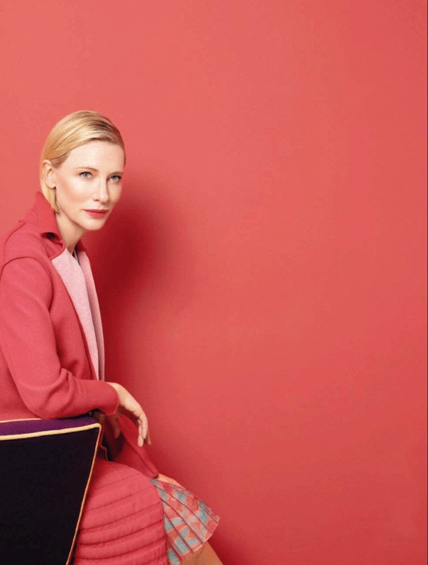 VOGUE ITALIA Cate Blanchett by Tom Munro. Cathy Kasterine, November 2017, www.imageamplified.com, Image Amplified8