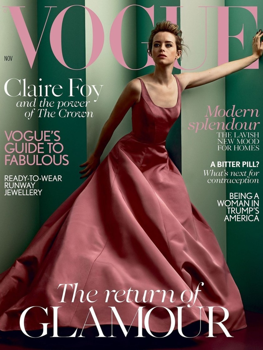 Vogue Uk Claire Foy By Craig Mcdean Image Amplified