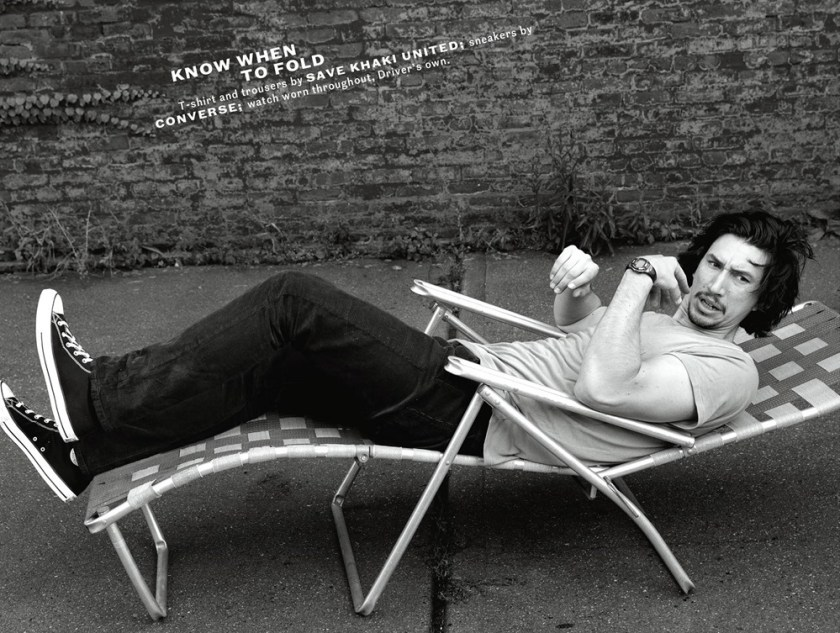 ESQUIRE MAGAZINE Adam Driver by Norman Jean Roy. Matthew Marden, December 2017, www.imageamplified.com, Image Amplified5