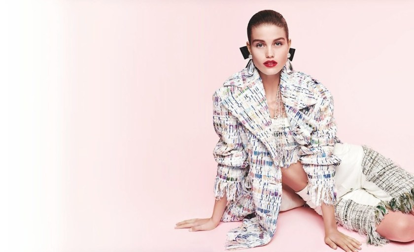 CAMPAIGN Grace Elizabeth & Luna Bijl for Chanel Spring 2018 by Karl Lagerfeld. www.imageamplified.com, Image Amplified7