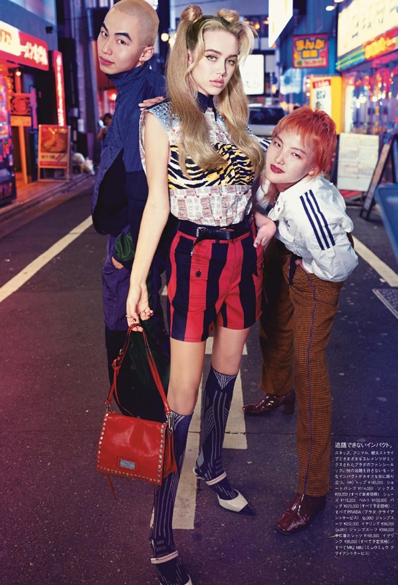 VOGUE JAPAN Delilah Belle & Sarah Snyder by Luca & Alessandro Morelli. Tsuyoshi Noguchi, February 2018, www.imageamplified.com, Image Amplified2