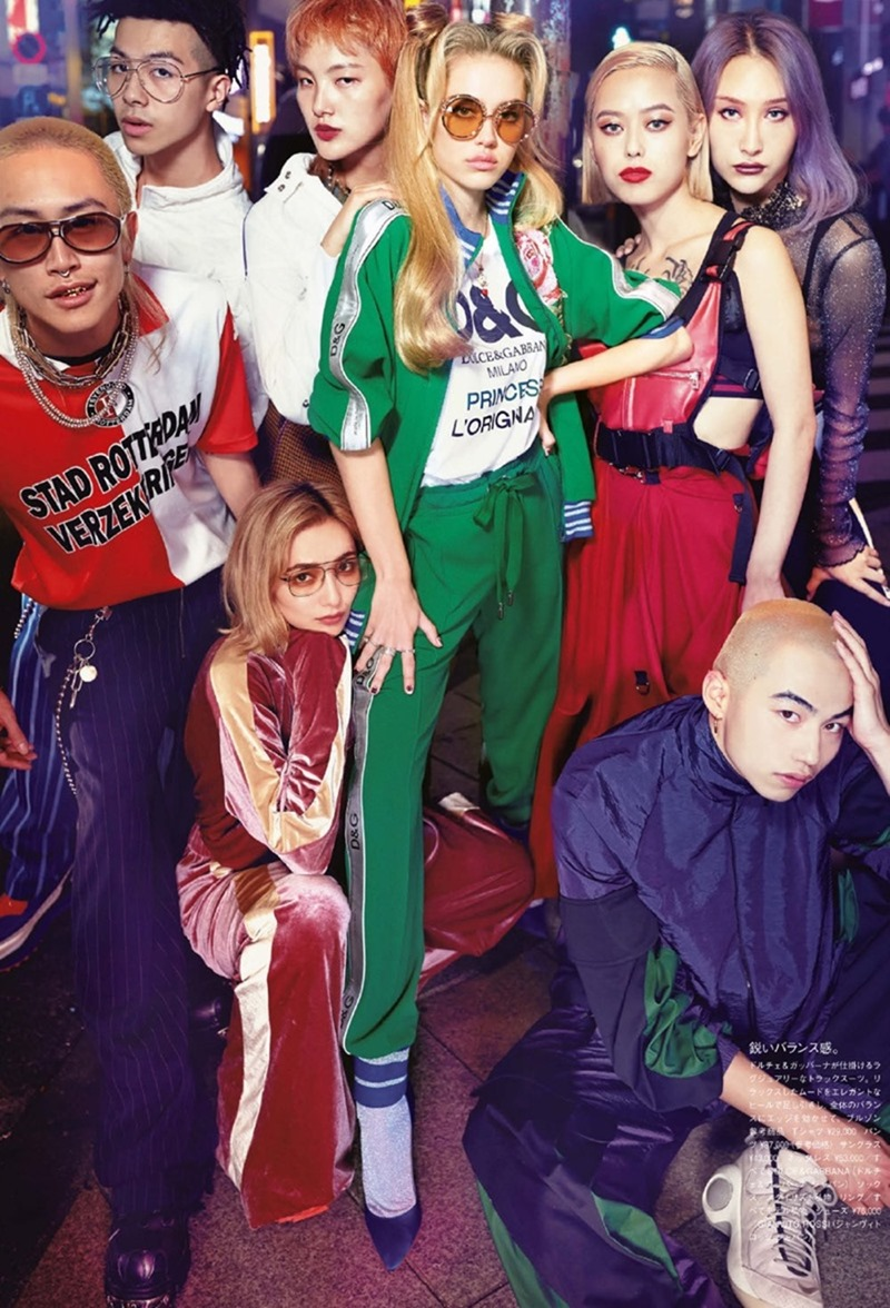VOGUE JAPAN Delilah Belle & Sarah Snyder by Luca & Alessandro Morelli. Tsuyoshi Noguchi, February 2018, www.imageamplified.com, Image Amplified4
