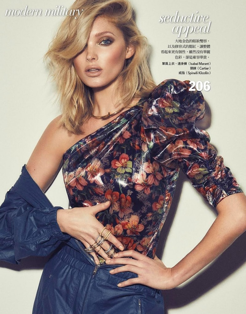 VOGUE TAIWAN Elsa Hosk by Zoey Grossman. Melina Chen, January 2018, www.imageamplified.com, Image Amplified4