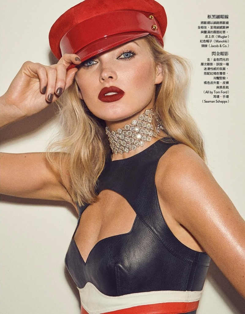 VOGUE TAIWAN Elsa Hosk by Zoey Grossman. Melina Chen, January 2018, www.imageamplified.com, Image Amplified5