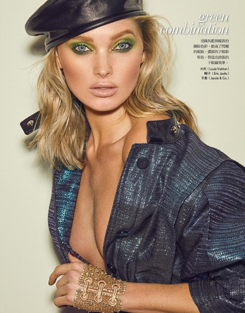 VOGUE TAIWAN Elsa Hosk by Zoey Grossman. Melina Chen, January 2018, www.imageamplified.com, Image Amplified6
