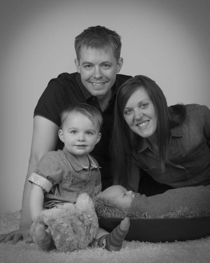 family photograph taken at peterborough studio