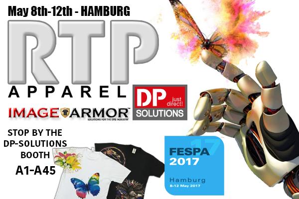 See Image Armor and RTP Apparel at the 2017 Hamburg FESPA