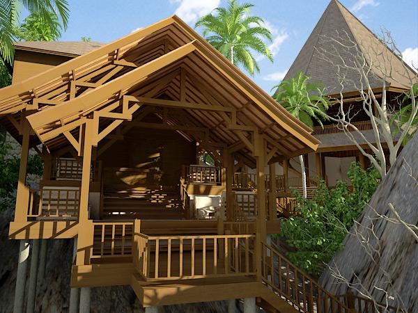 Jasa Arsitek Desain Rumah Kayu Prefab  Desain Arsitektur  IMAGE BALI ARSITEK  KONTRAKTOR