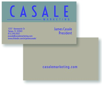 Casale Marketing Business Cards
