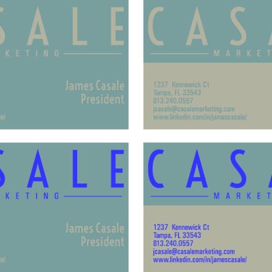 Initial Business Card Ideas