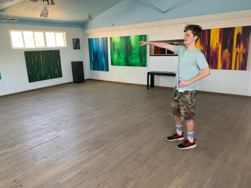 Katyraven Exhibition in Corrales – Set Up