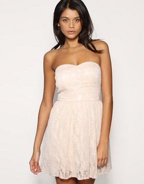 TFNC Bandeau Lace Prom Dress