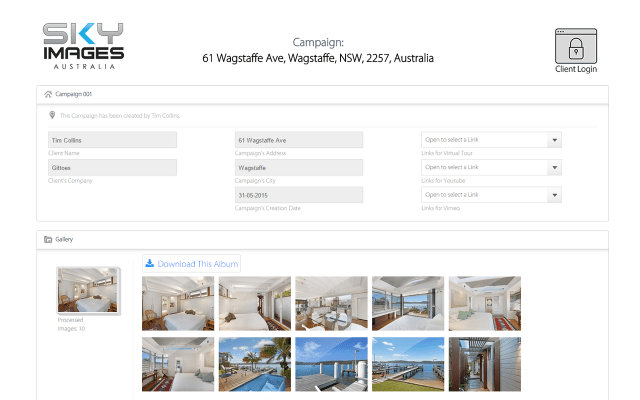 New : Sharing Your Campaigns with iMAGECLOUD