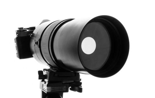 站長使用的其中一隻反射式鏡頭