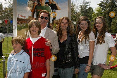 Photos and Pictures - Arnold Schwarzenegger and Maria Shriver with family at a day with