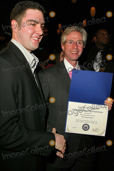 Photos And Pictures Scott Seligman Receives A Congressonal Certificate At The Premiere Of