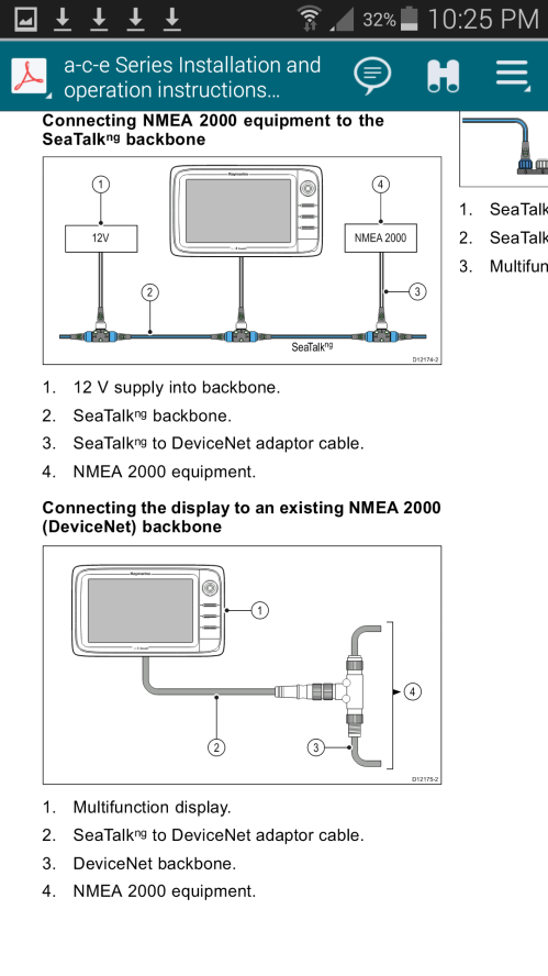 small resolution of you want the male one that will plug into the female socket on the nmea 2000 network tee notice that nmea 2000 and devicenet are the same thing
