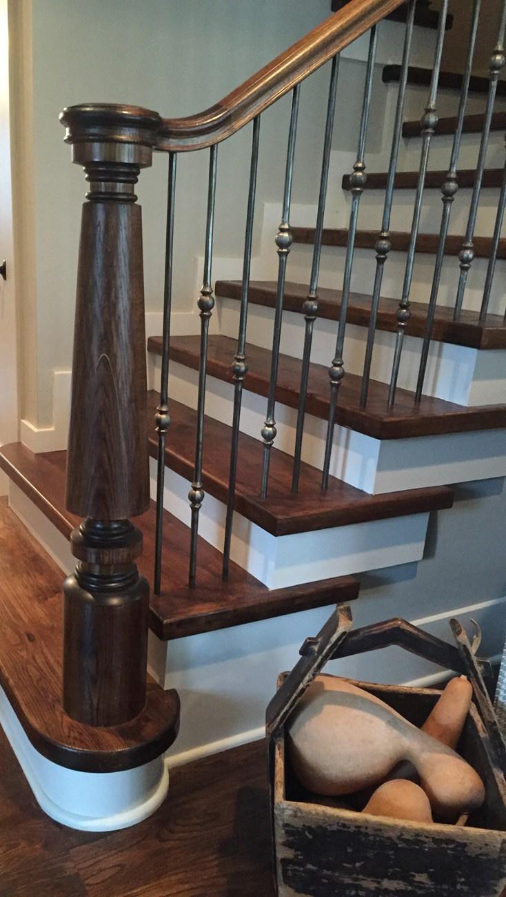 Antique Stair Post Reproduction Image Design Stairs | Antique Handrails For Stairs | Antique Brass | Wood | Antique Green | Antique Furniture | Architectural Antiques