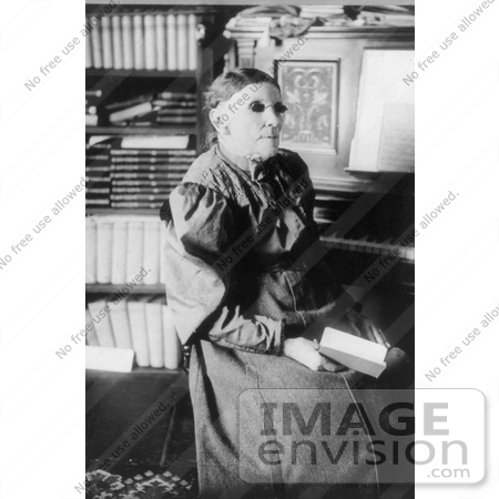 Picture of Frances Jane Crosby | #11305 by JVPD | Historical Photography