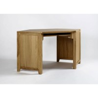 Westbury solid oak furniture corner office computer desk ...