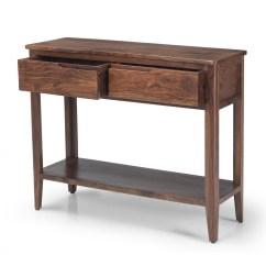 Dark Sofa Tables Leather Modular Sofas Uk Padstow Walnut Wood Furniture Console Hall Table With
