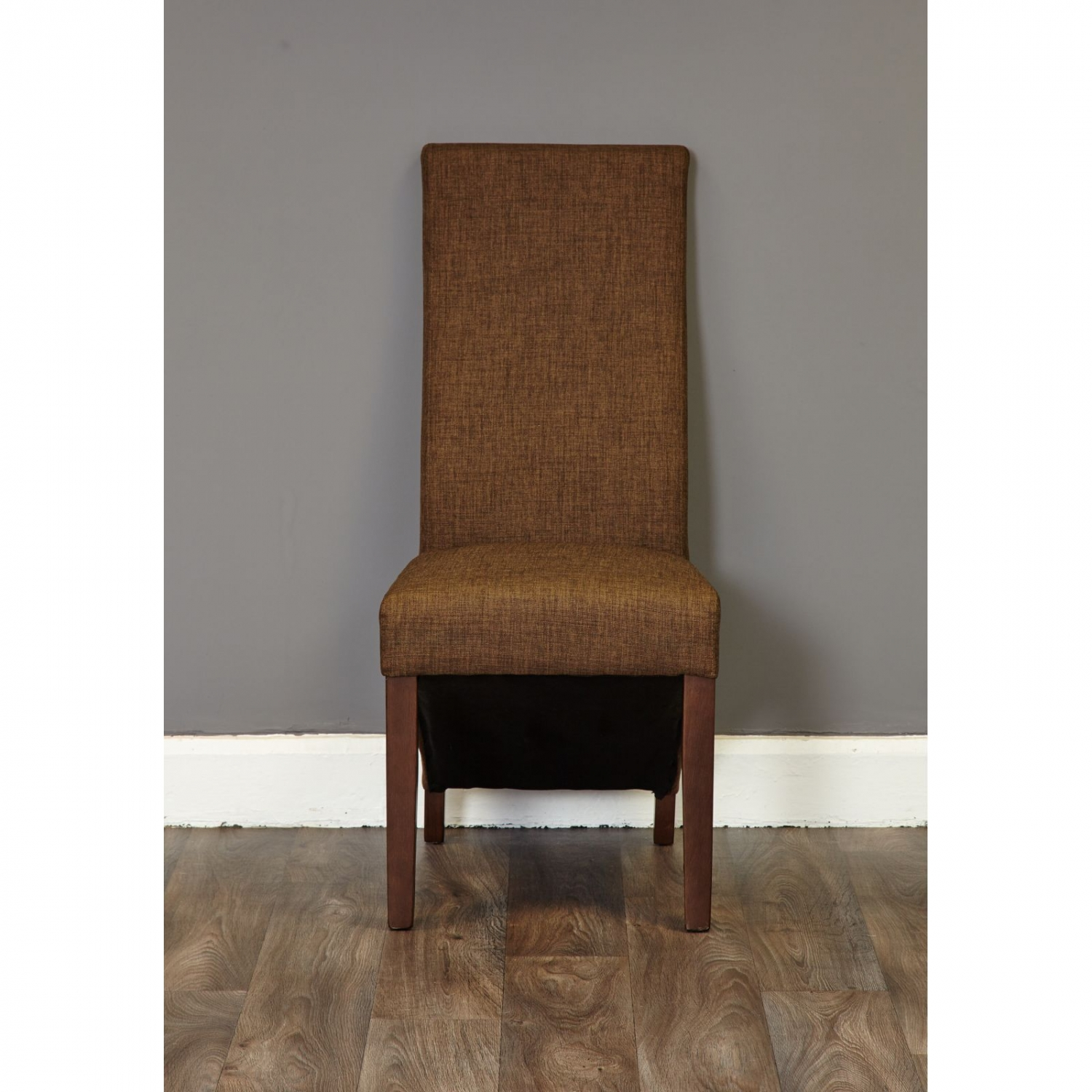 dark wood dining chairs what states have the electric chair shiro modern furniture set of six upholstered