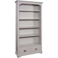 Tetris oak grey painted office furniture large bookcase ...