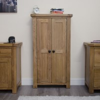Original rustic CD DVD storage cabinet bookcase unit solid ...