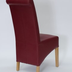 Quality Leather Dining Chairs Knoll Womb Chair Solid Oak Furniture Legs