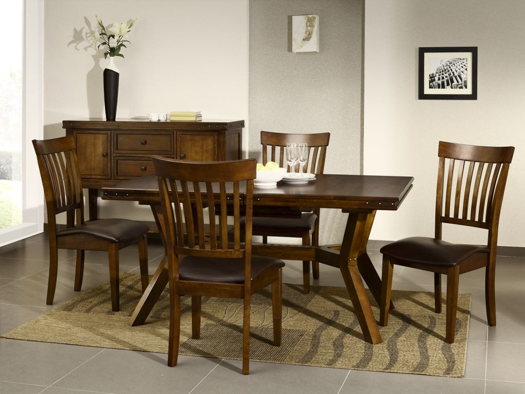 dark wood dining room chairs plastic chair covers for living cuba furniture table and set ebay