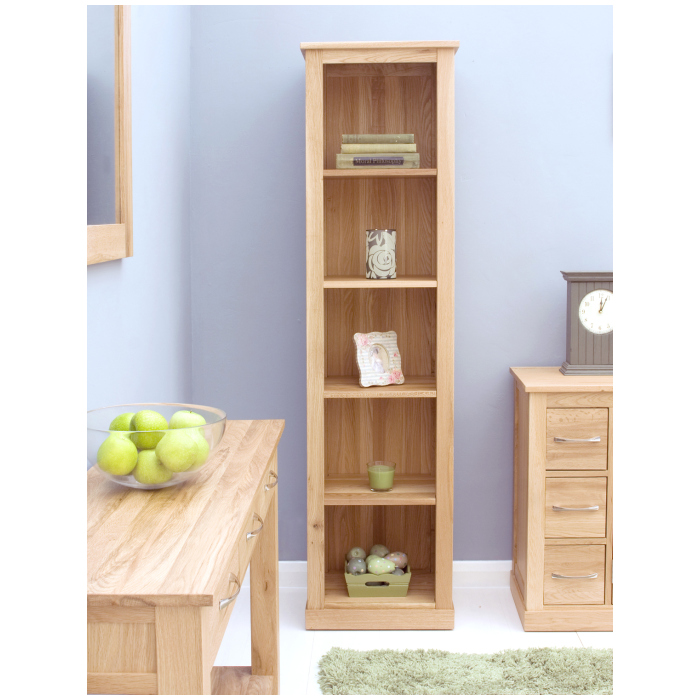 tall narrow bookcase solid wood  Home Decor