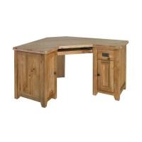 Tuscany solid oak furniture office corner computer PC desk ...