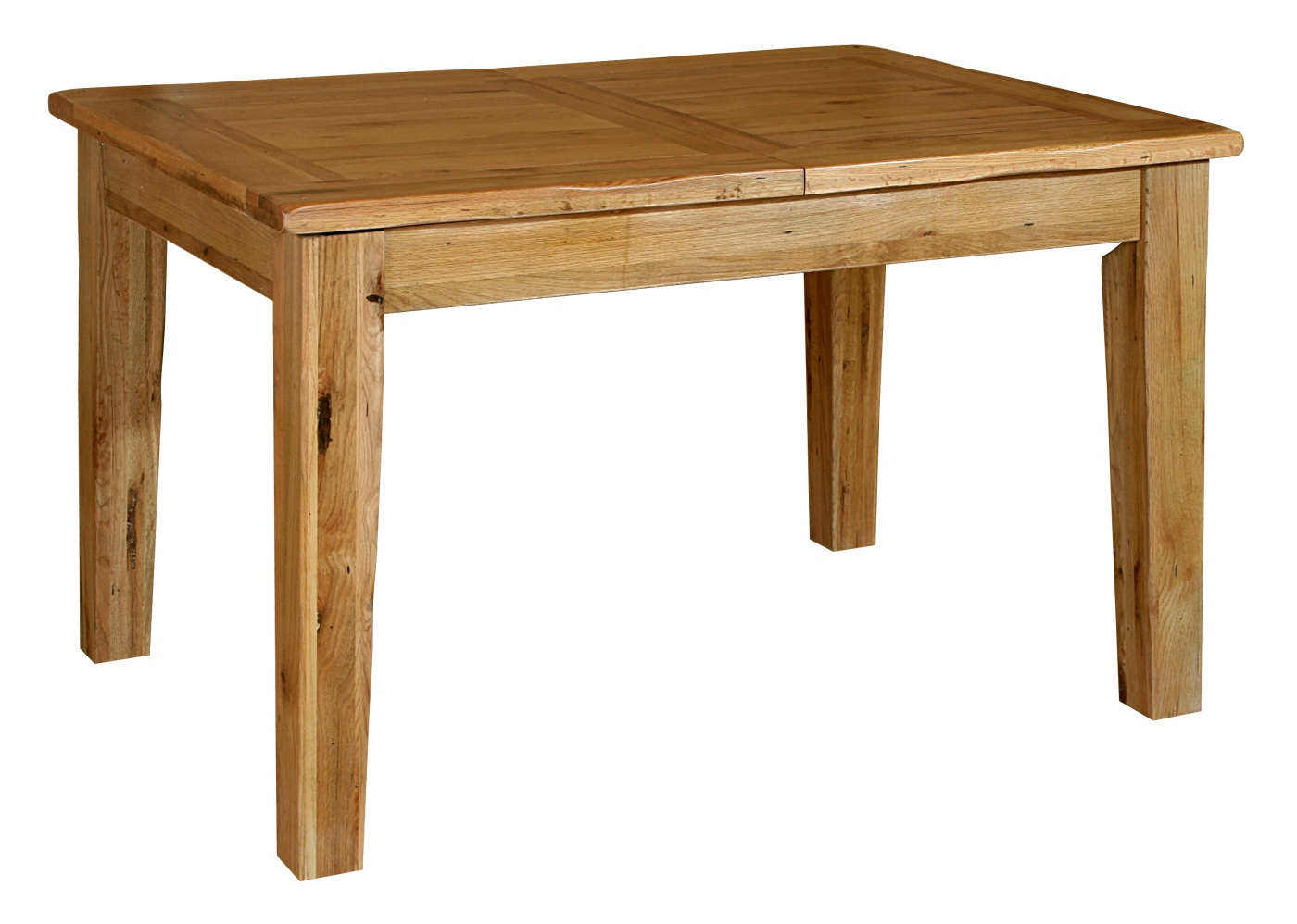 Tuscany solid oak dining room furniture extending dining