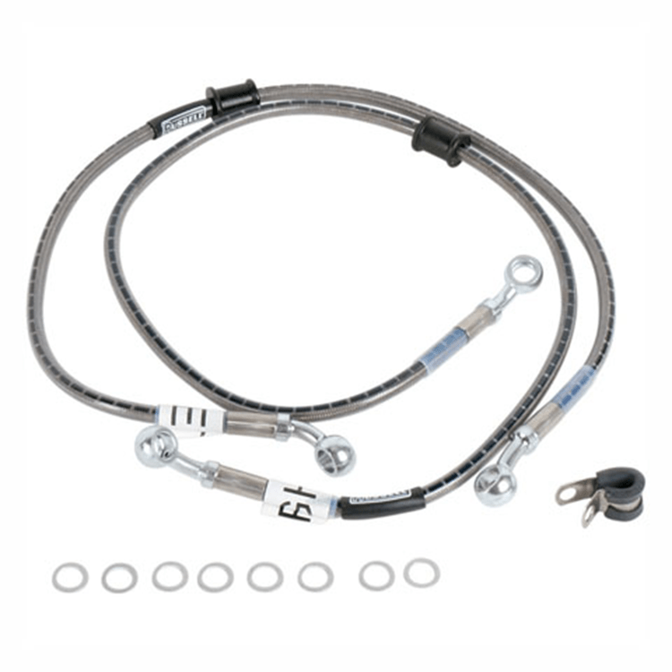 Cycleflex Brake Line Two-Line Race Kit~2009 Kawasaki