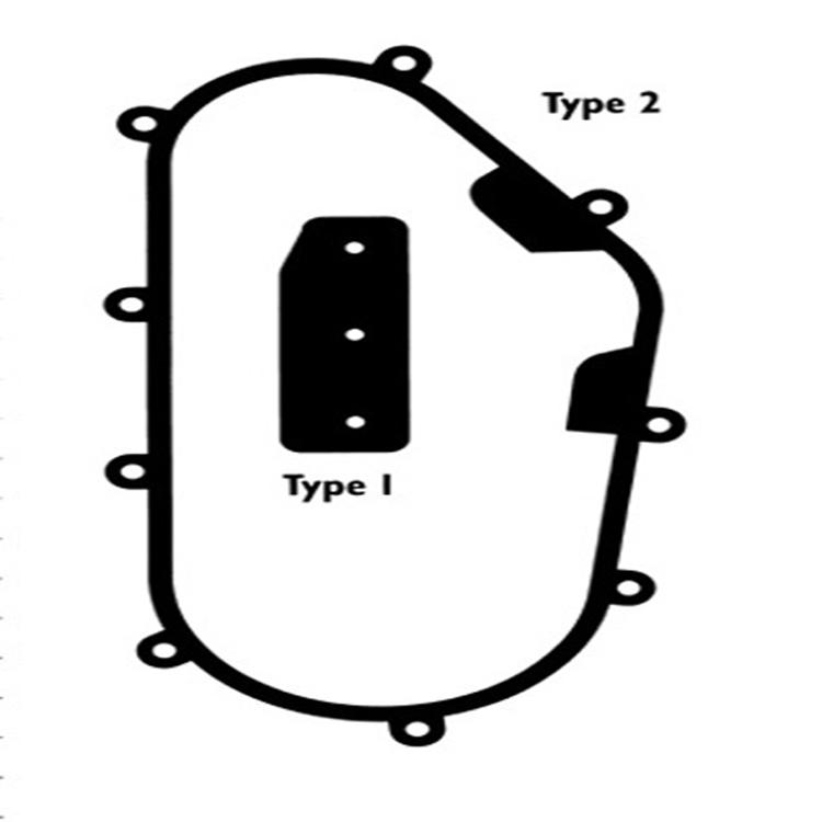 Chaincase Cover Seal~1996 Yamaha PZ480E Phazer II LE